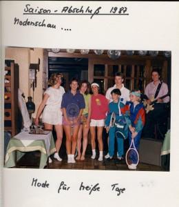 Abschlußfeier 1987